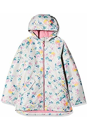 Joules Girl's Raindrop Raincoat, Floral