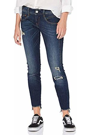 Herrlicher Women's Gila Slim Cropped Jeans, (Rough Blues Destroy 829)