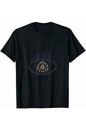 Spiritual 3rd Eye Geometric shirt Spiritual Third eye shirt Yoga spirituality Chakras ascend T-Shirt