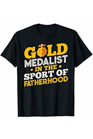 RayDee Parent Appreciation Tees Gold Medalist in the Sport of Fatherhood T-Shirt