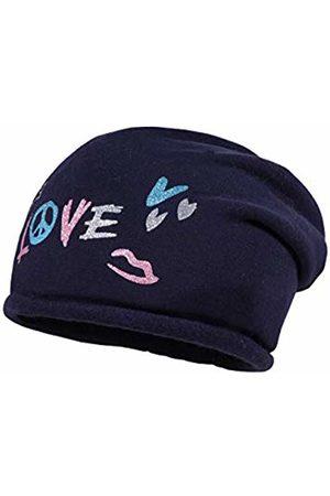maximo Girls Hats - Girl's Aus Jersey Mit Rollrand Und Glitterlove Hat