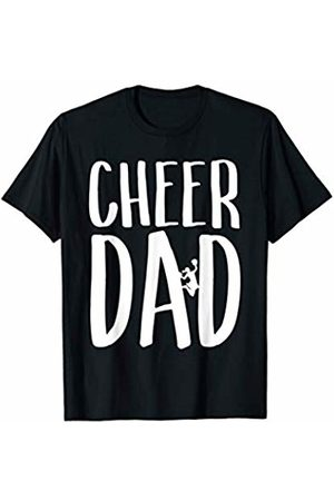 Feels Like Football Threads Mens Cheer Dad for Proud Fathers of Cheerleaders Sports Fan Gift T-Shirt