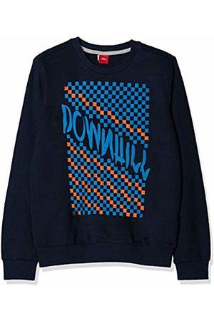 s.Oliver Boy's 61.908.41.2776 Sweatshirt, (Dark 5952)