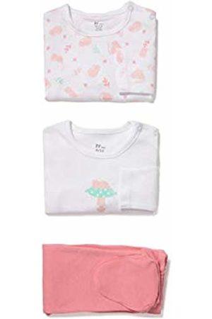 ZIPPY Baby Girls' Pack 2 Bodies Y Pantalón Pyjama Top