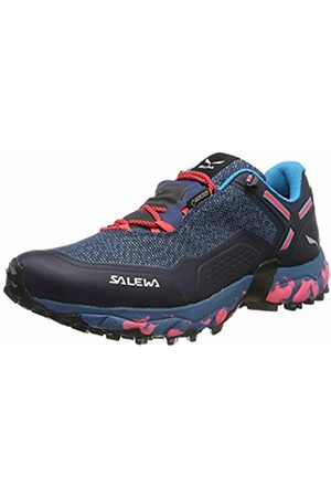 Salewa Women Shoes - Women's Ws Speed Beat GTX Trail Running Shoes, (Patriot /Fluo Coral 8638)