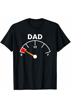 Shirts For Dad By Design Tee Company Mens Shirts For Dad Funny New Father Pregnancy Running On Empty T-Shirt