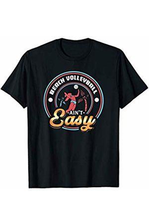 Tru Bru Sports T-shirts Beach Volleyball ain't Easy Athlete's Sport T-Shirt