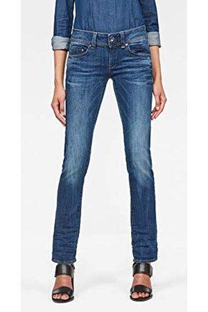 G-STAR RAW Women's Midge Saddle Mid Waist Straight Jeans