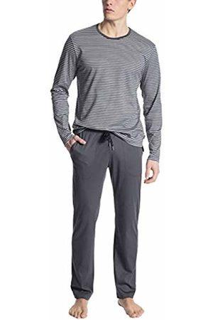 Calida Men's Casual Pure Pyjama Set, Sleet 952