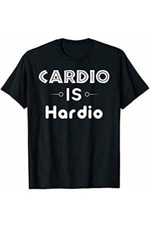 Funny Gym Gift Sarcastic Joke, Cardio Is Hardio Funny Gym Gift Sarcastic Joke