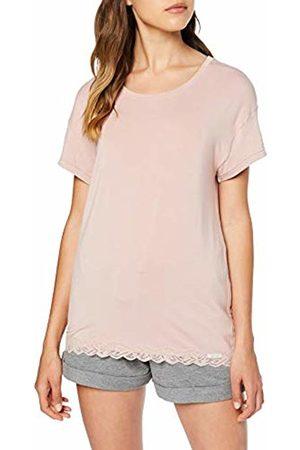 Skiny Women's Eternity Sleep Shirt Kurzarm Pyjama Top