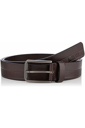 HUGO BOSS Men's Tylir-stripe_sz35 Belt, Dark 202)