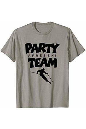 TSS Winter Sports T-Shirts & Gifts Apres Ski Party Team (Black) Winter Sports Skier T-Shirt