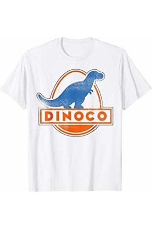 Disney Pixar Cars Dinoco Vintage Logo Text T-Shirt