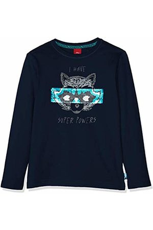 s.Oliver Boy's 63.908.31.8805 Long Sleeve Top, Dark 5952