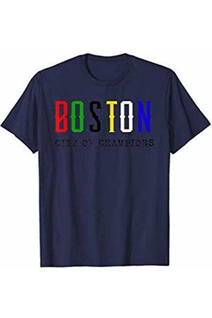 Rain Apparel Co. Boston City Champion Sports Championship Banner Title T-Shirt