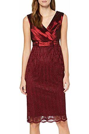 Apart Women's Dress with Lace Party, Bordeaux