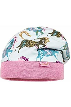 maximo Girl's Beanie aus Jersey mit Pferden Hat