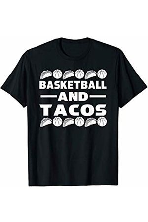 Cultures Basketball Novelty Gifts And Shirts Basketball And Tacos Basketball Players Sports JT T-Shirt