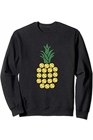 Noodle Bean Apparel Softball Shirt - Cute Girls Softball Pineapple Sweatshirt