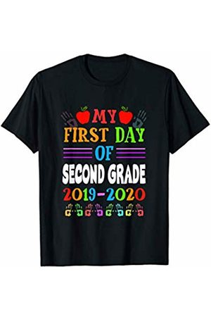 2Tees T08 M20C My 1st Day Of Second Grade Student Shirt Back To School Gift