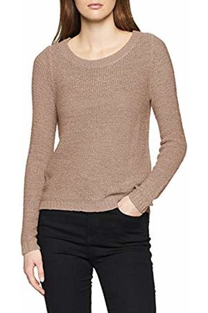 ONLY NOS Women's Onlgeena Xo L/s Pullover KNT Noos Jumper, Shadow Gray