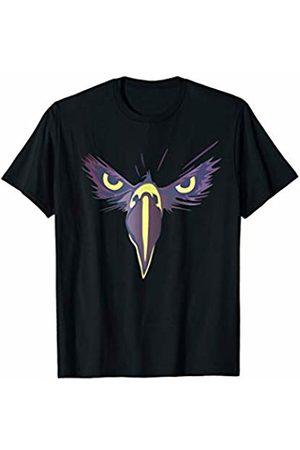 peter2art funny unique animal illustration gifts Strong Bird Eagle Eyes Ornithologist Gym Fitness Motivation T-Shirt