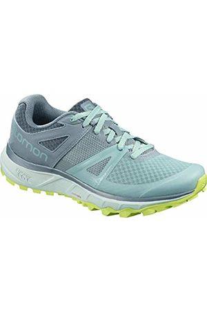 Salomon Women's Trail Running Shoes, Trailster W, Nile /Bluestone/Acid Lime