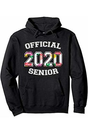 Official Senior 2020 High School Gifts Official Senior 2020 Grad High School Floral Sports Girl Pullover Hoodie