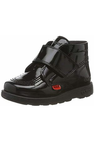 Kickers Girls' Fragma Hi Shine Stra Ankle Boots, Blk