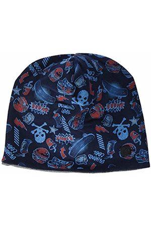 s.Oliver Boy's 64.908.92.2278 Hat, Dark AOP 59B0