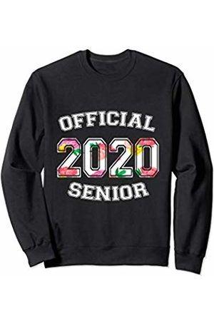 Official Senior 2020 High School Gifts Official Senior 2020 Grad High School Floral Sports Girl Sweatshirt
