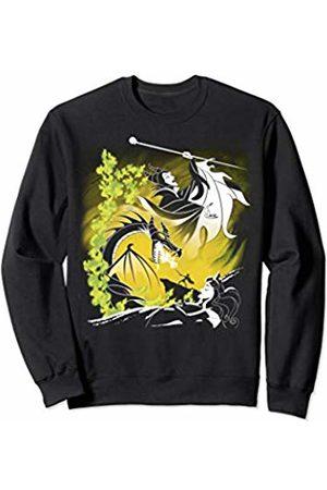 Disney Sleeping Beauty Dragon Maleficent And Aurora Outline Sweatshirt