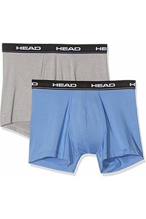 HEAD Men's Microfiber Boxer 2p Swim Trunks, ( / Mélange 277)