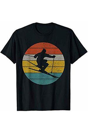Vintage Ski Apparel Co. Ski Vintage - Skiing Winter Sports Freeski Skier Gift T-Shirt