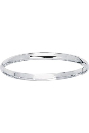 SuperJeweler 14K (3.10 g) Kids Bangle Bracelet, 5 1/2 Inches