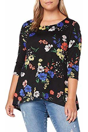 Simply Be Women's Ladies Dip Back Tunic T-Shirt, ( 001)
