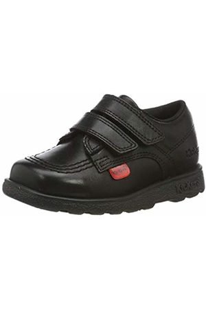 Kickers Baby Boys' Fragma Lo Velcro Loafers, ( Blk)