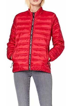 Replay Women's W7496 .000.83406 Jacket, Cherry 457