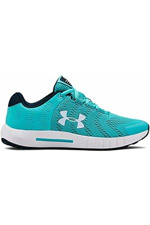Under Armour Unisex Kids' Grade School Pursuit BP Competition Running Shoes, Breathtaking /Moonstone 300
