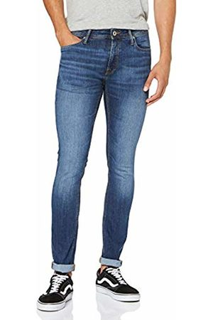 Jack & Jones Men's Jjiliam Jjoriginal Am 814 Skinny Jeans, Denim