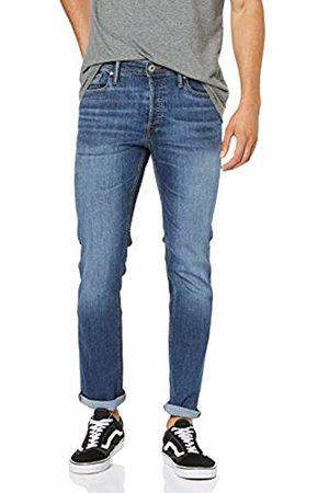 Jack & Jones Men's Jjitim Jjoriginal Am 814 Slim Jeans, Denim