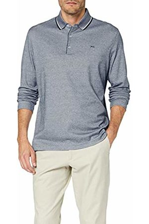 Brax Men's Pharell Easy Care Interlock Polo Casual Longsleeve T-Shirt