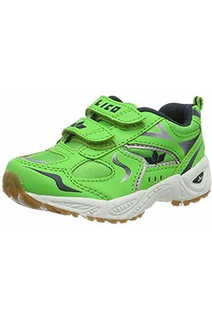 LICO Shoes - Unisex Kids' Bob V Multisport Indoor Shoes, grün/Marine/Weiss