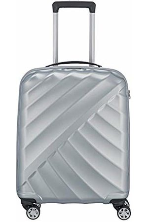 Titan Suitcases & Luggage - Shooting Star by ®: Robust Hard Shell Trolleys in Cool Metallic Look in 4 Trendy Colours Suitcase 55 cm - 828406-56