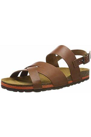 Bearpaw Men Sandals - Men's Matias Sling Back Sandals, Natural (120)