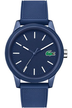 Lacoste 12.12 Blue Dial Blue Fabric Strap Mens Watch