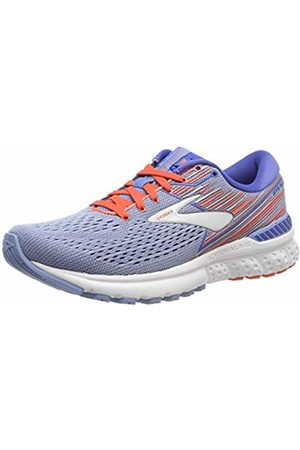 Brooks Women's Adrenaline Gts 19 Running Shoes, Beluga Air /Coral/ 467