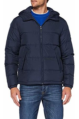 Tommy Hilfiger Men's Hooded Bomber Jacket, ((Navy Blazer Chs)