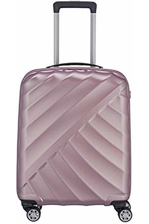 Titan Shooting Star by ®: Robust Hard Shell Trolleys in Cool Metallic Look in 4 Trendy Colours Suitcase 55 cm - 828406-15